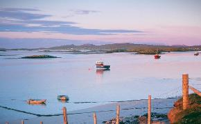 North Uist boats