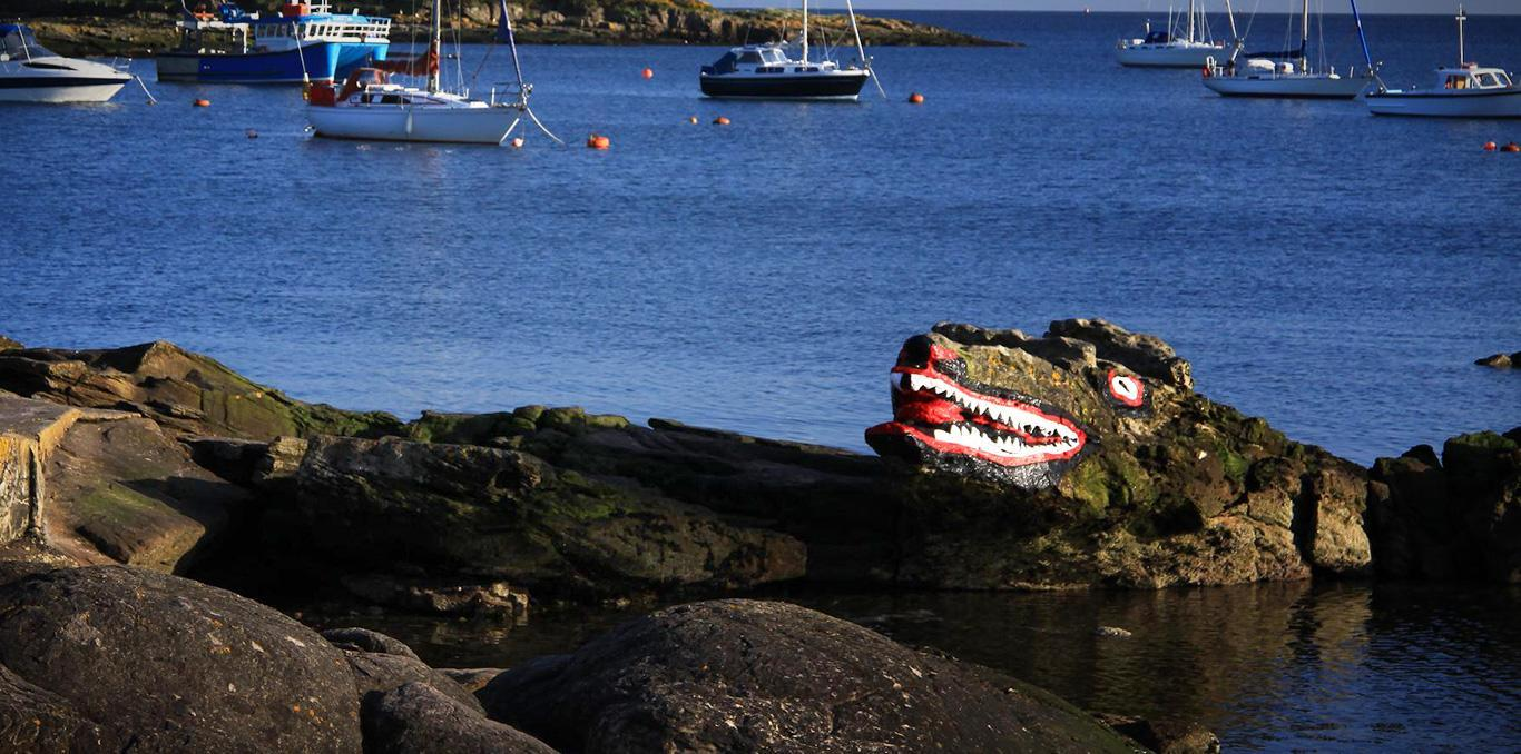 Cumbrae crocodile rock