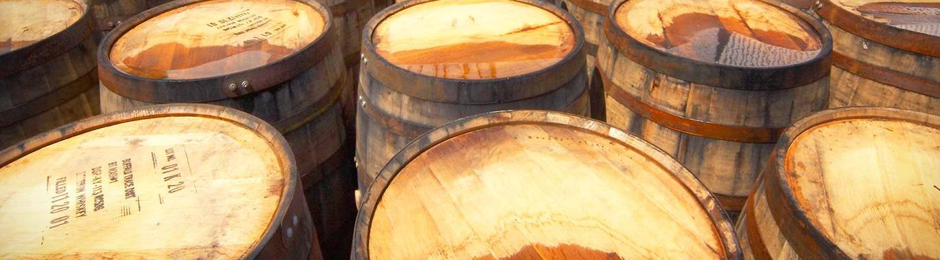 Islay whisky casks