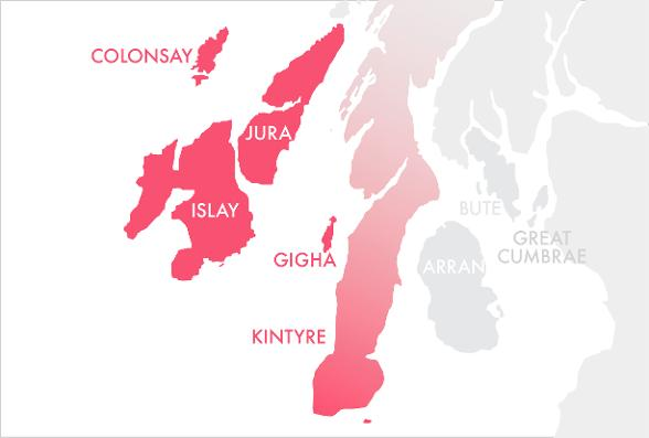 Southern Hebrides Map