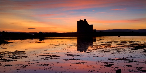 Arran - Lochranza Castle Sunset