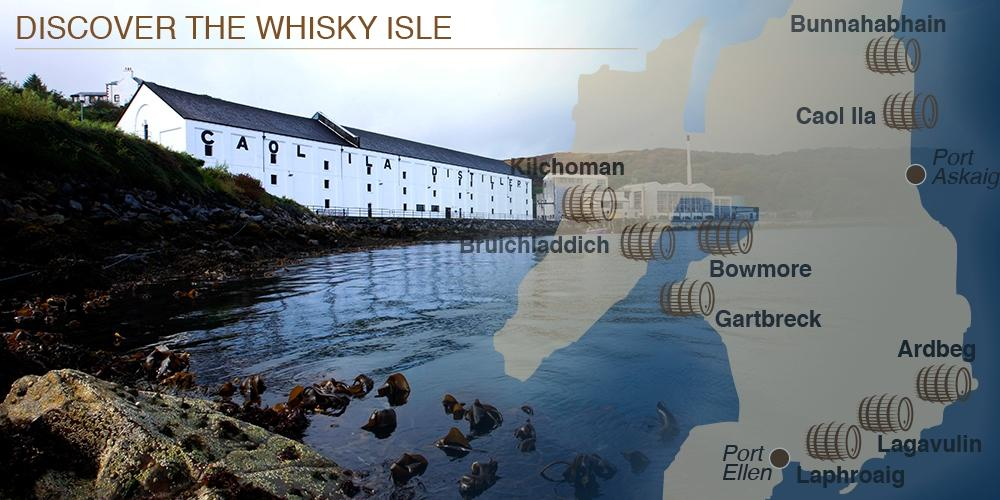 Discover the whisky isle, Islay