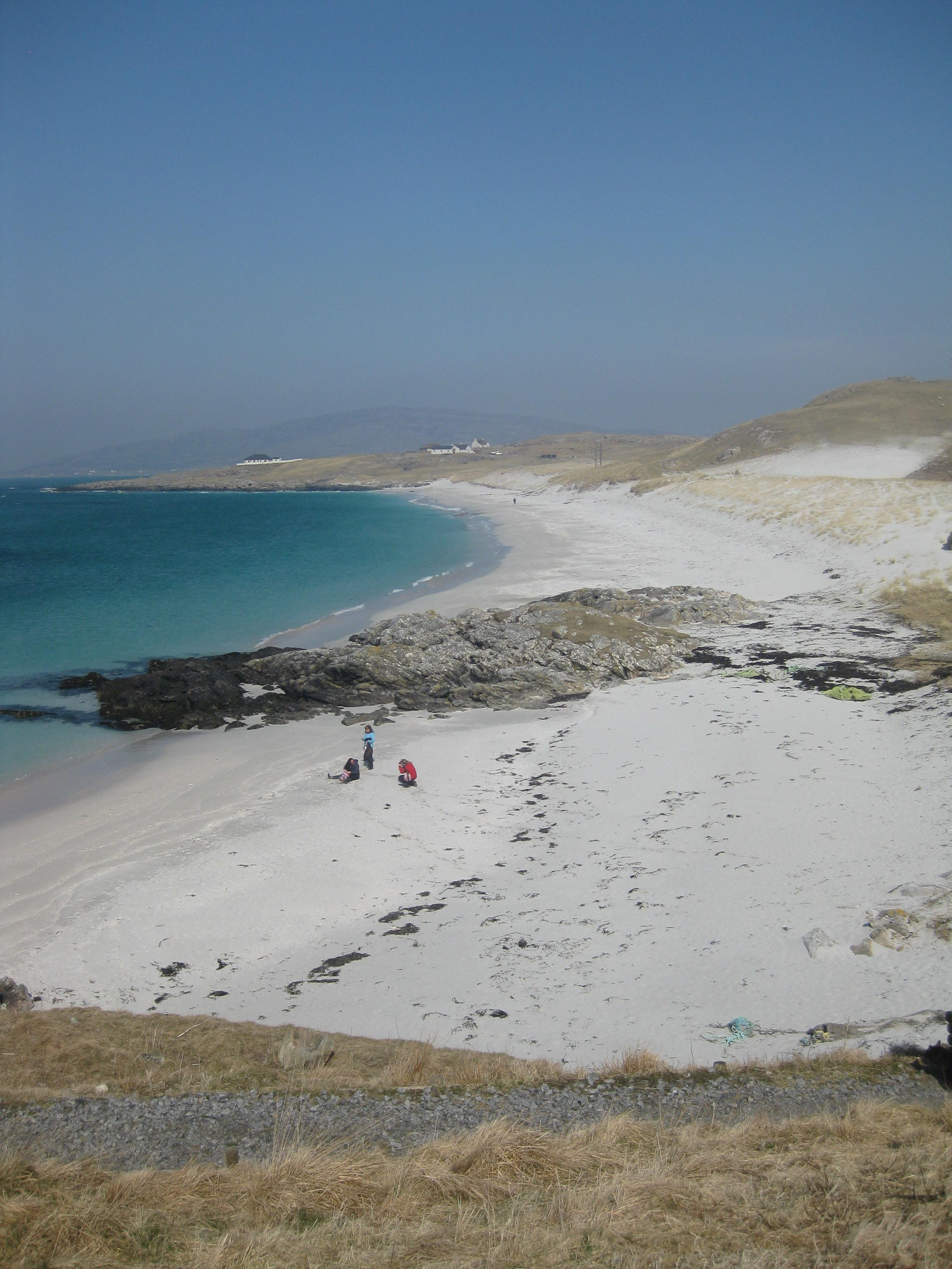 Whisky Galore beach at Eriskay