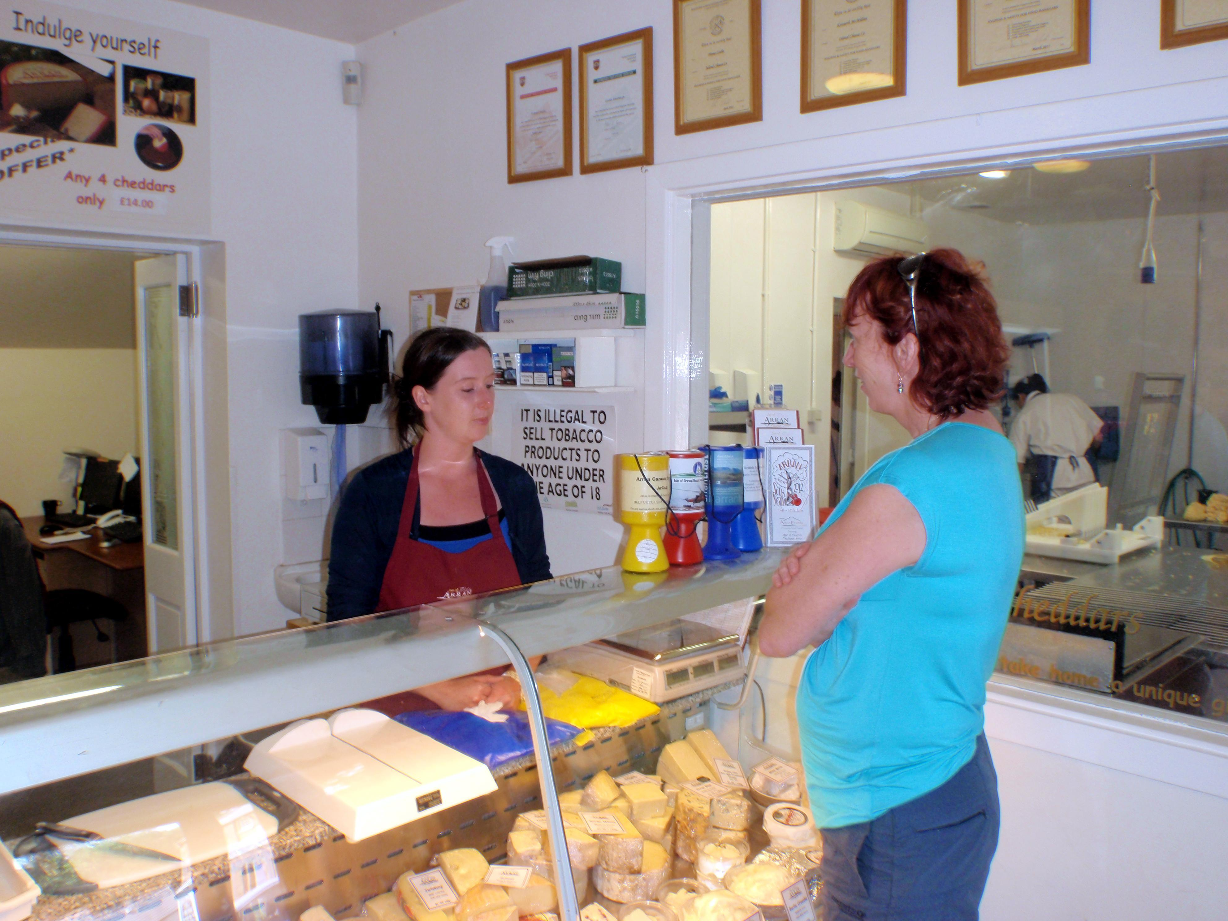 Island Cheese Company, Arran