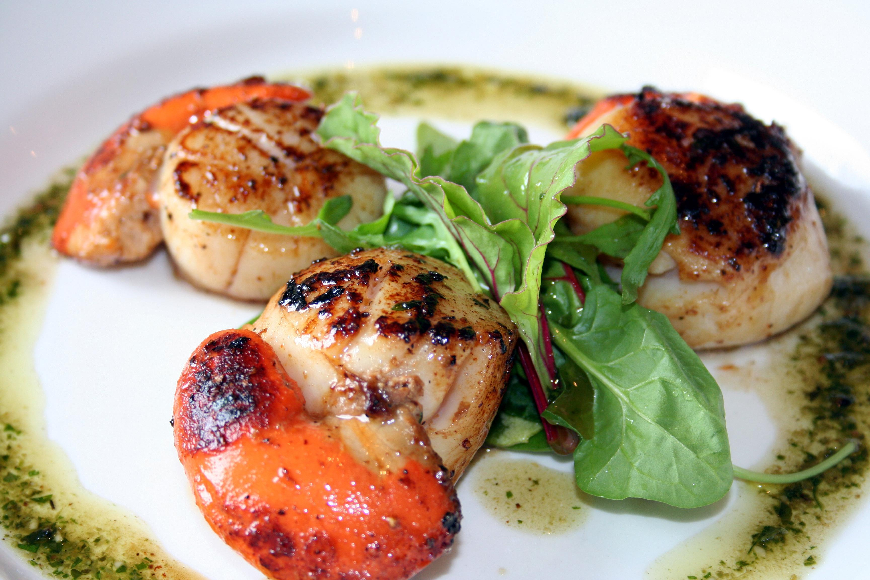 King Scallops at Kilberry Inn