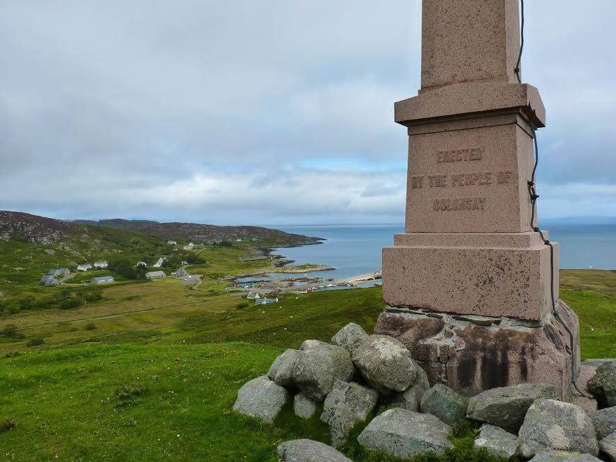 View from the Lord Colonsay Monument