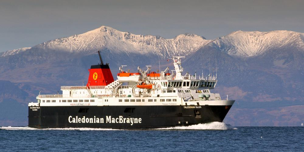 MV Caledonian Isles fuel monitoring system installed