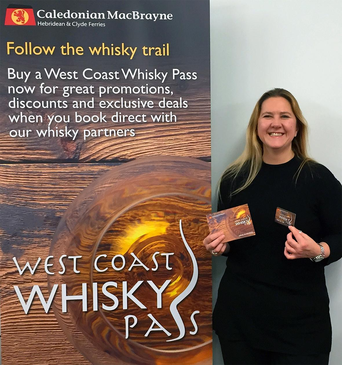 Launch of CalMac Whisky Pass
