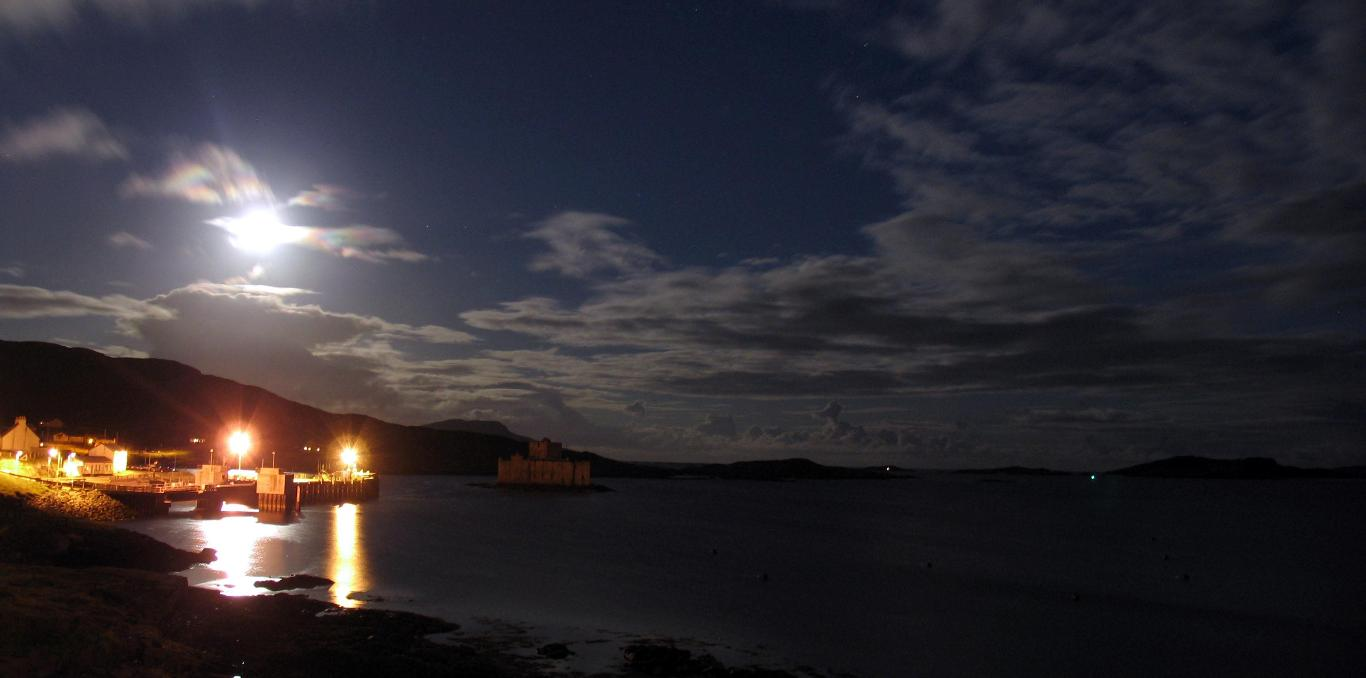 Barra night time