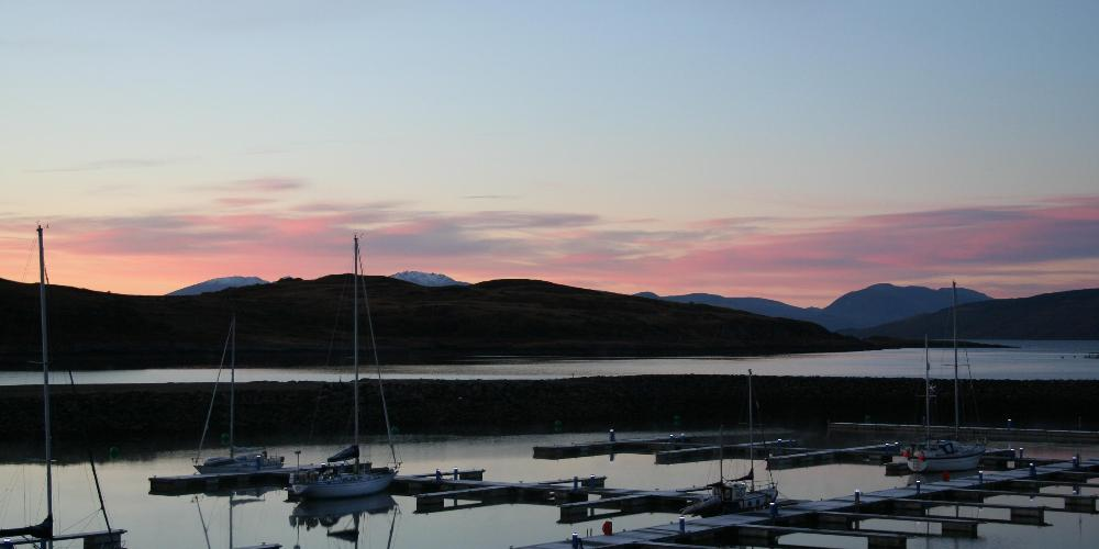 Portavadie with Arran Hills in the background (2)