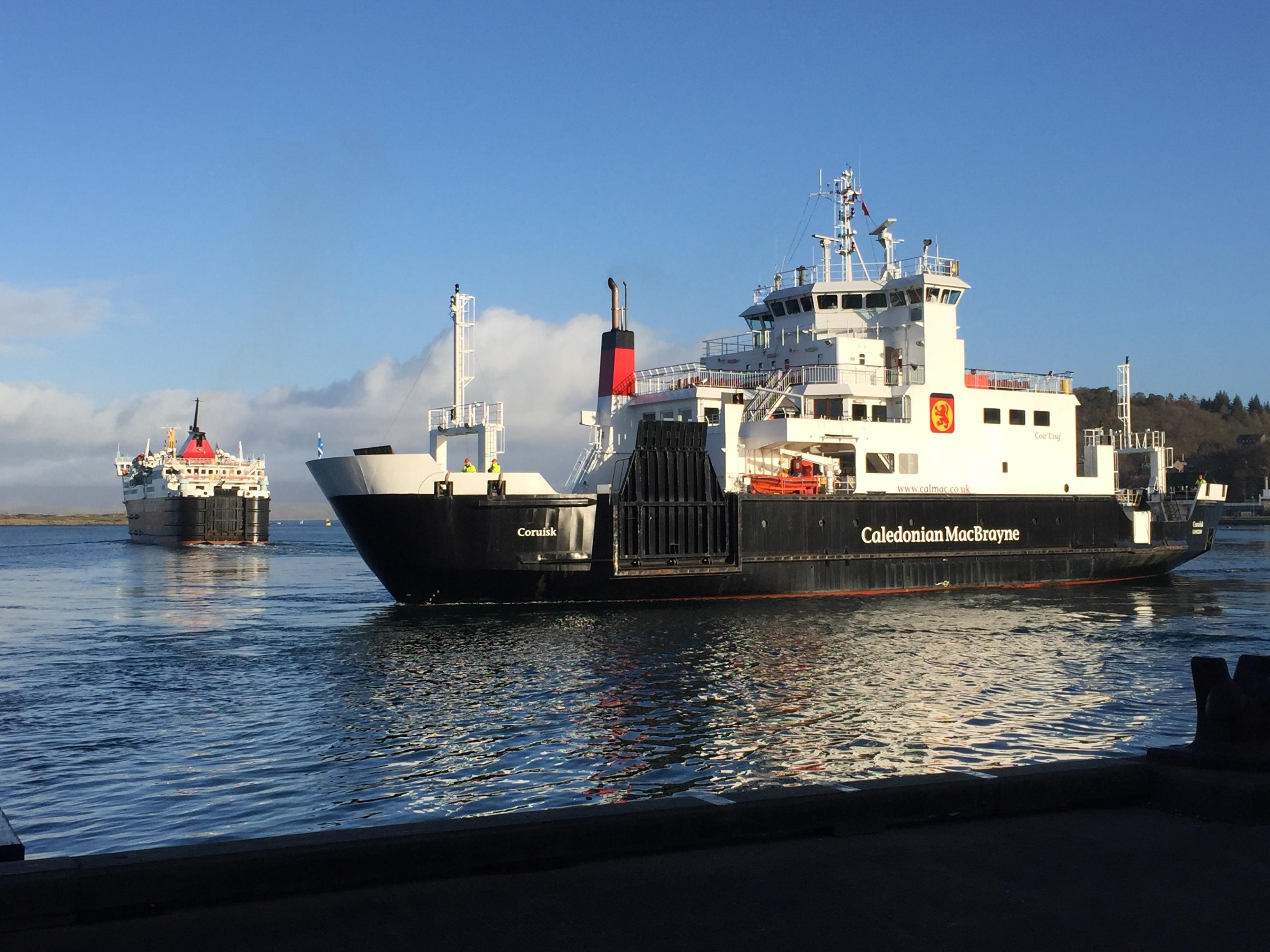MV Coruisk at Oban