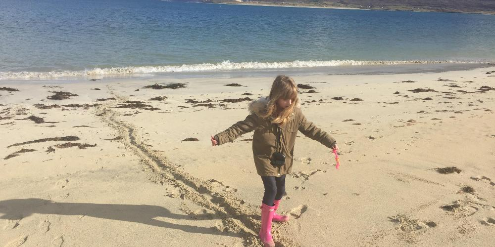 Inspiration on Harris Beaches