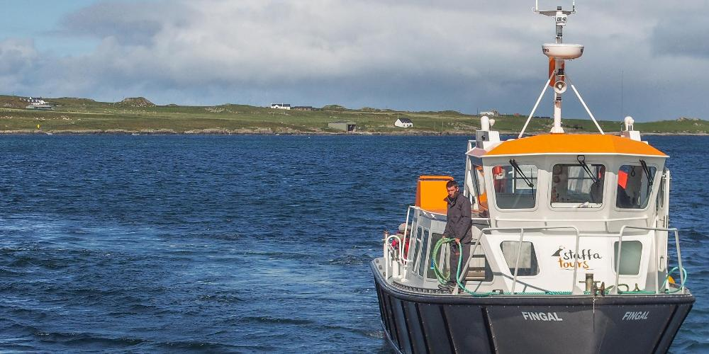 Staffa Tours boat
