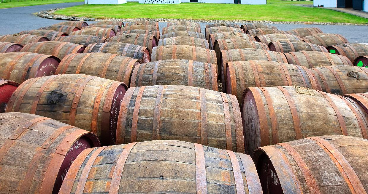 Arran distillery near Lochranza