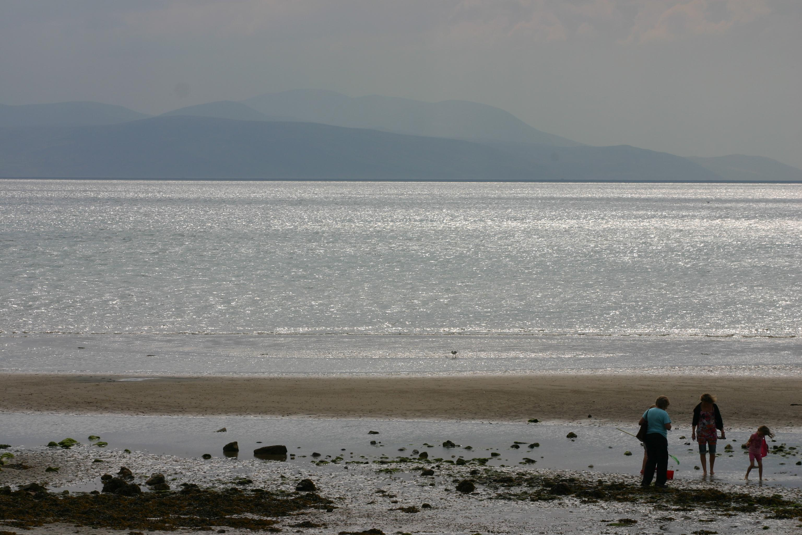 Beach on Bute