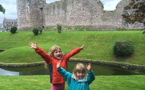 McKelvies at Rothesay Castle (2)