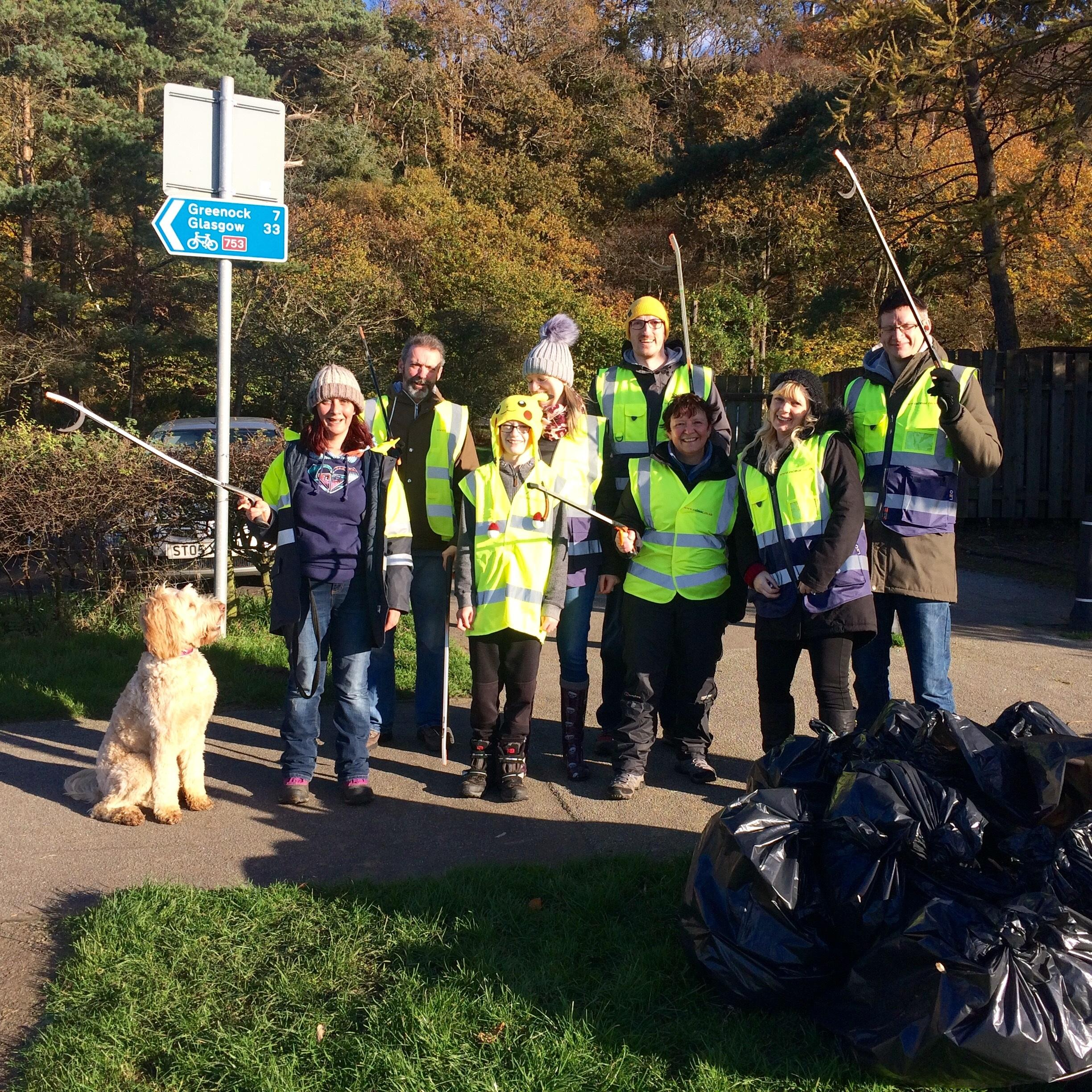 Gourock clean up
