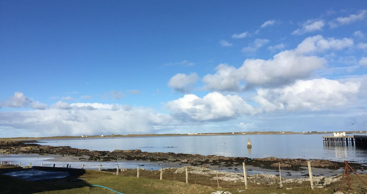 Scarinish Pier and Gott Bay (Experience Tiree)