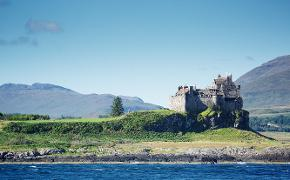 Duart Castle view from sea
