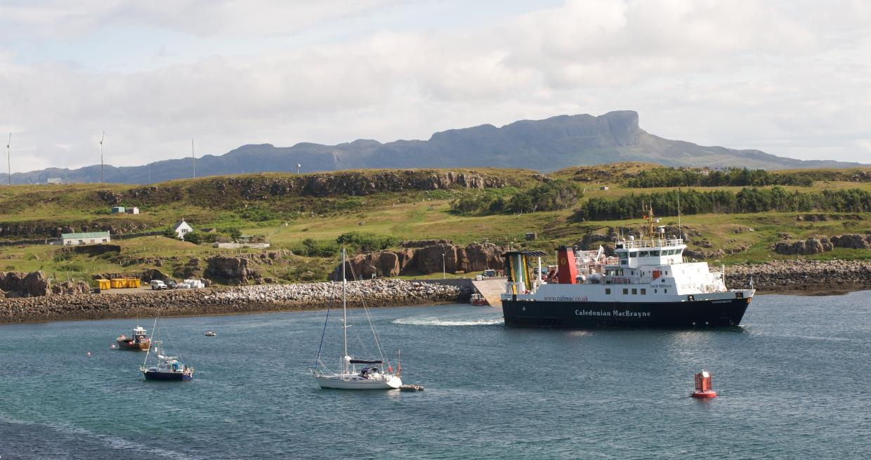 Small Isles non-landing cruise from Mallaig