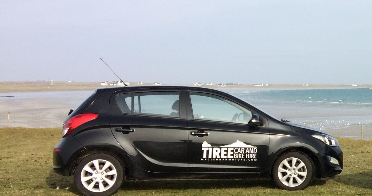 Explore Tiree by car