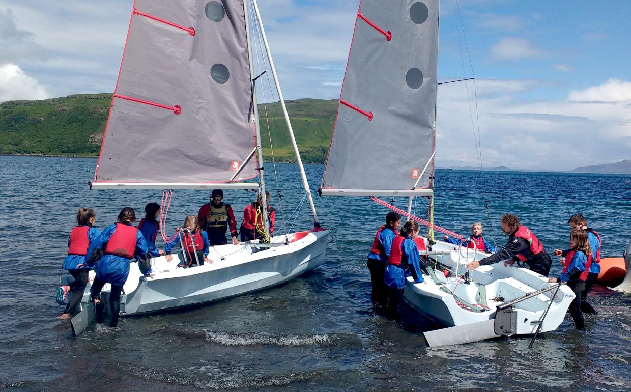 Skye Dinghy Sailing Experience