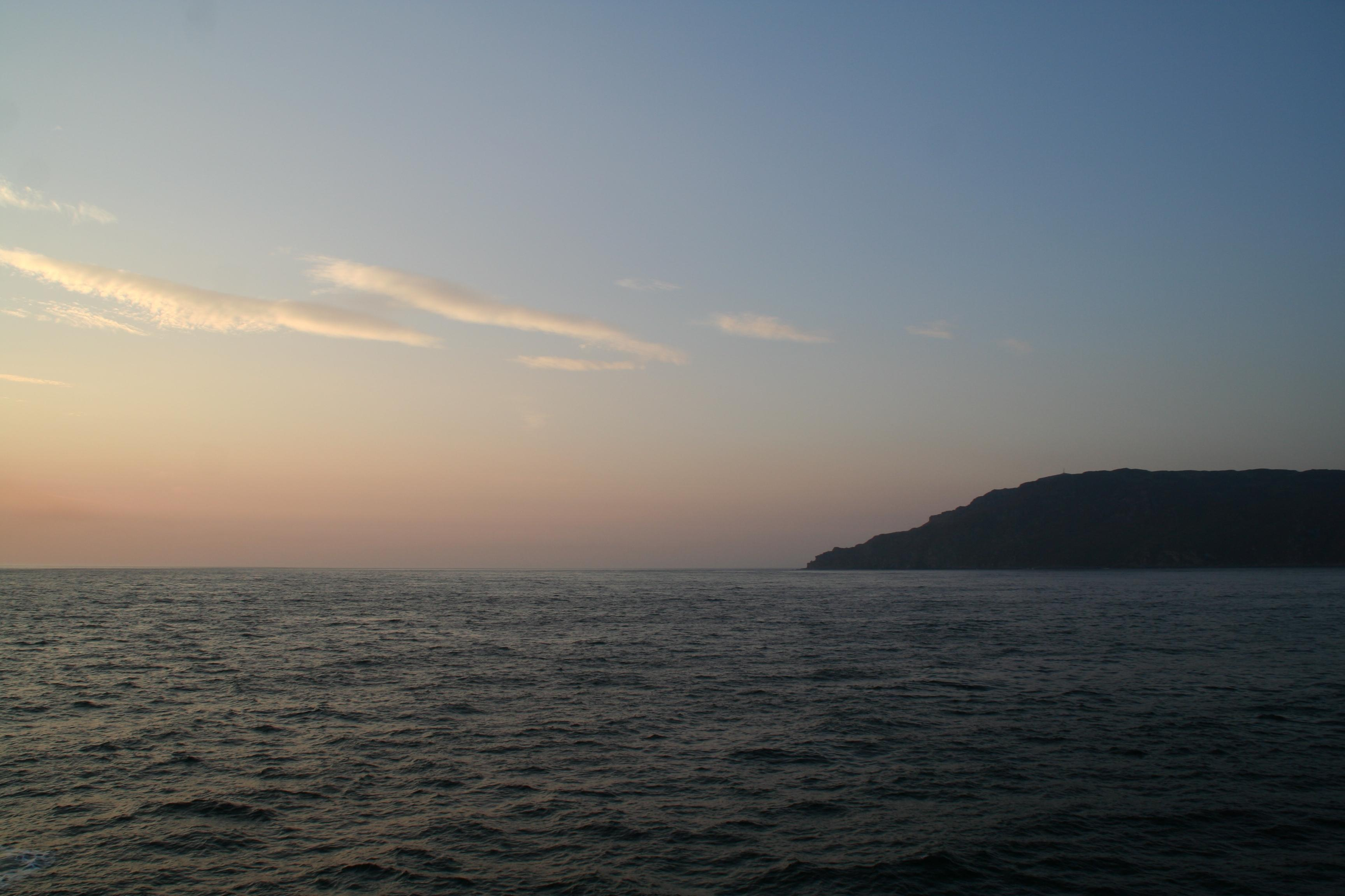 Mull of Kintyre at sunset