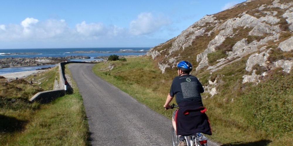 Colonsay cycling
