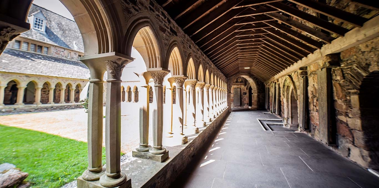 Iona Abbey Cloisters