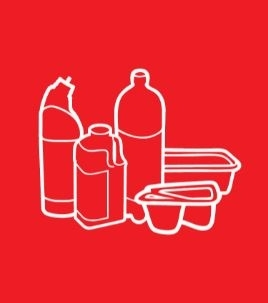 Recycling icon - plastics