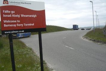 Berneray port