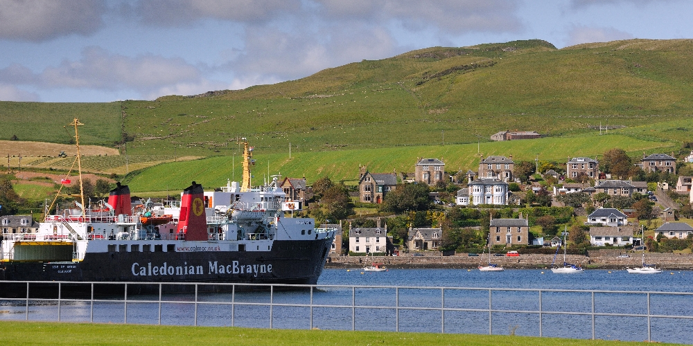 Campbeltown harbour