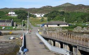 Colonsay port