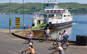 Great Cumbrae port