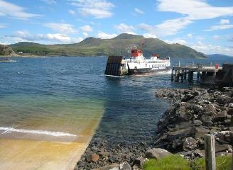 Kilchoan port